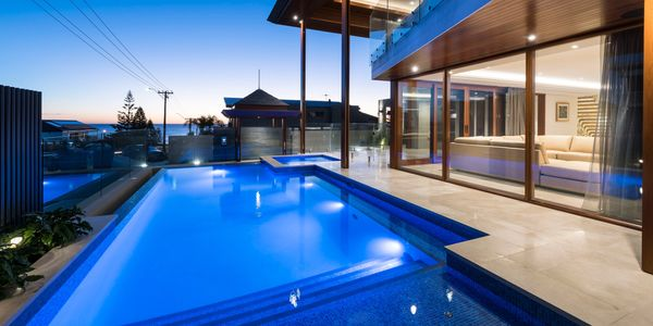 Swimming pool, Imperial Pools, Concrete pool construction and design