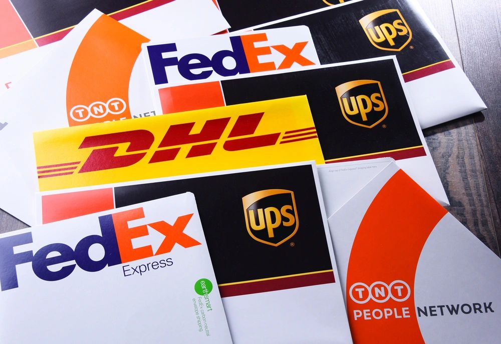 Common Phishing Tagets are FedEx, DHL, USPS