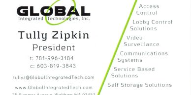 Global Integrated Technologies Business Card
