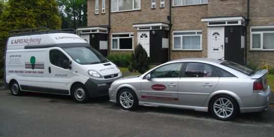 Capital Fencing Ltd Fleet vehicles
