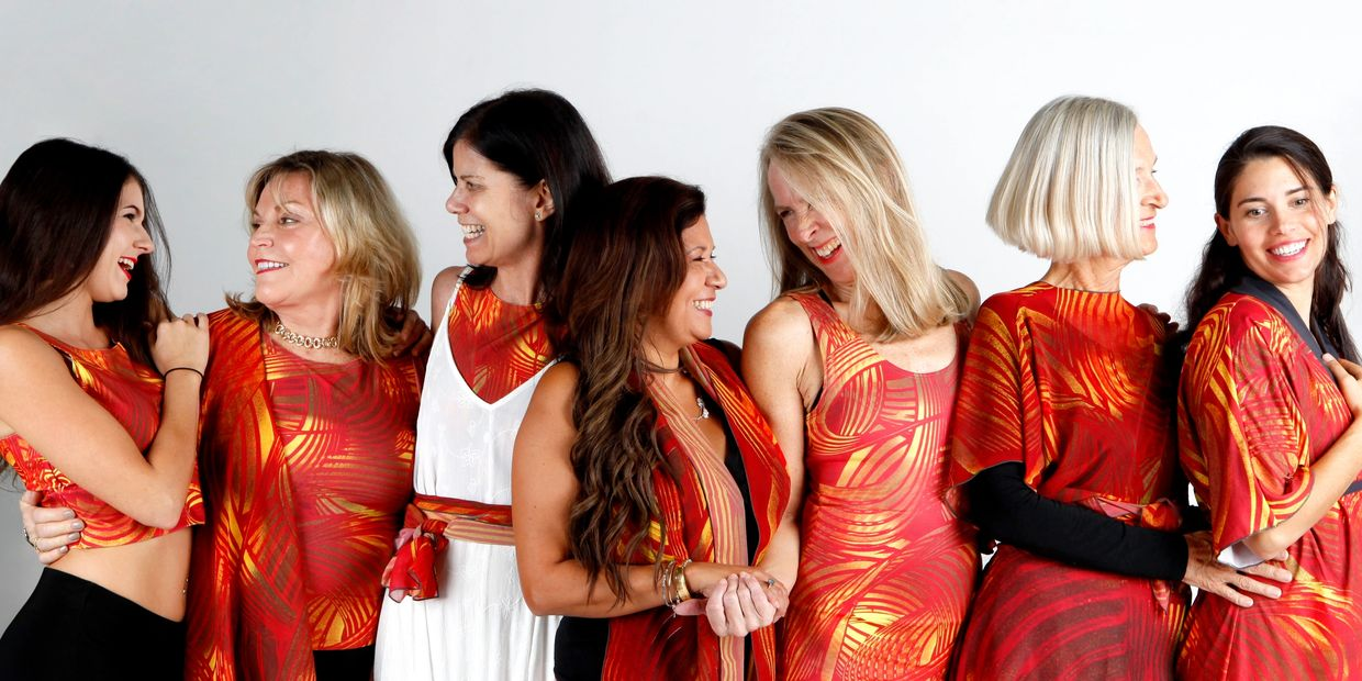 Adam's Red design women's clothing supports awareness, healing & empowered living.