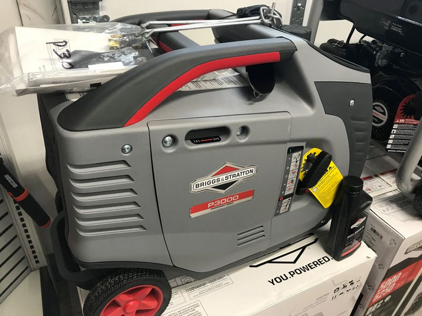 P3000 PowerSmart Series™ Inverter Generator Perfect for recreation and RV needs