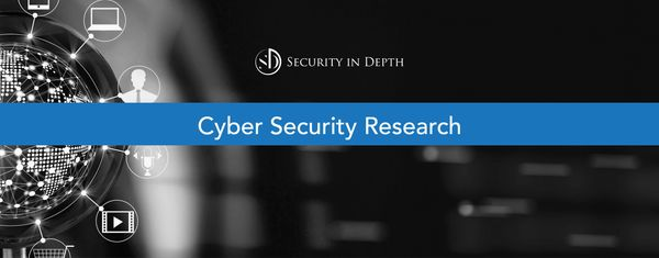 Cyber Security Research, Security in Depth, infosec research, data breach research, phishing