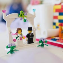 Essex Wedding Photography, Wedding Cake, Lego Wedding