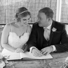 Essex Wedding Photography, signing the register, Newland Hall Weddings