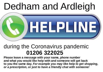 Image with the helpline number Colchester 322025