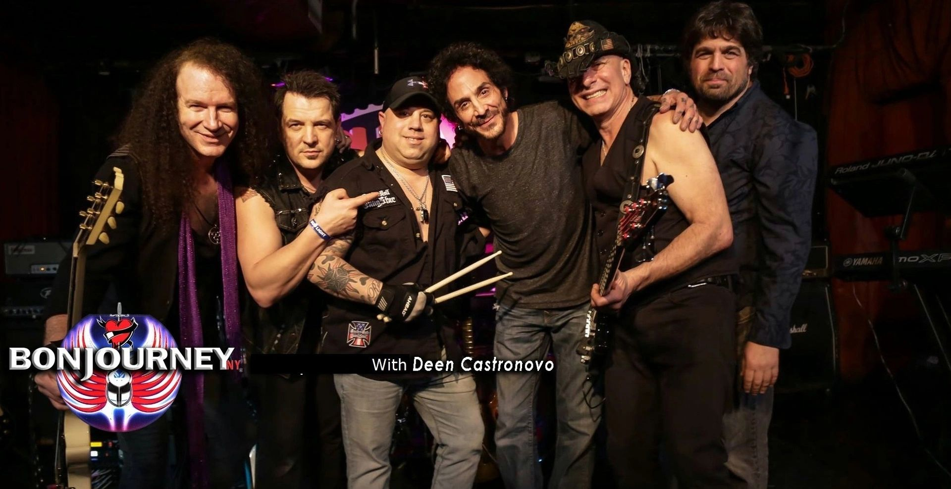 BonJourneyNY is a New York based Tribute Band paying tribute to Rock Icons, Bon Jovi and Journey.