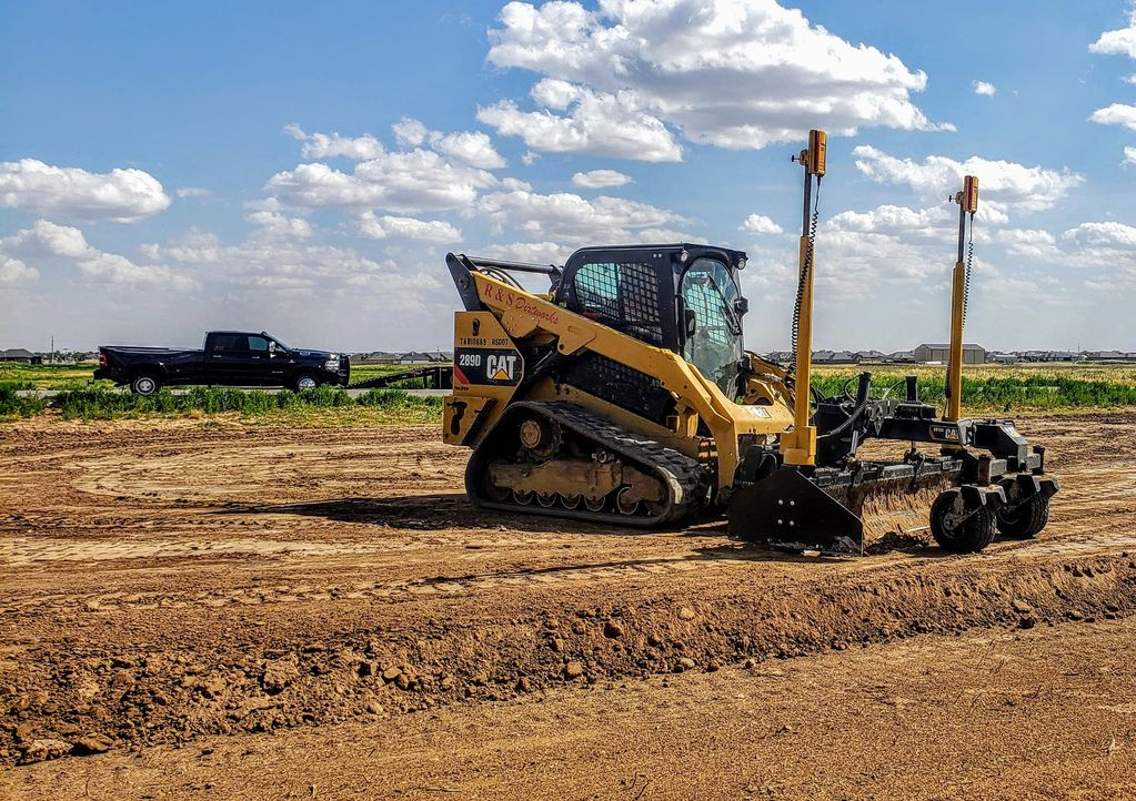 Using a laser grading system ensures uniform level across the pad & perfect height for your project.