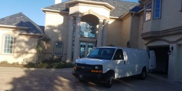 Residential carpet cleaning house