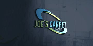 Joe's carpet cleaning wall logo