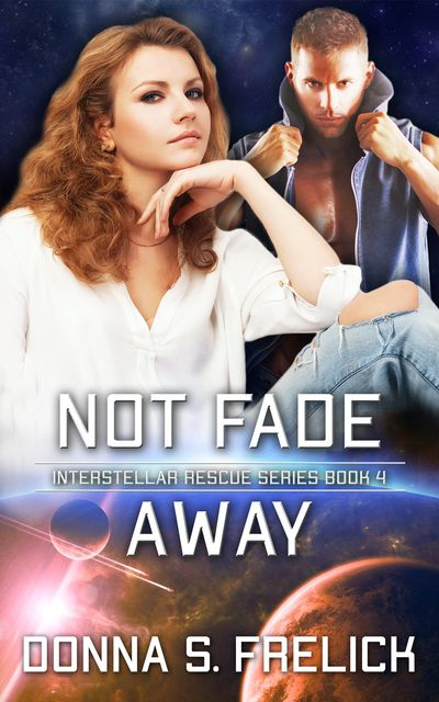 Not Fade Away cover with country woman in front and man with vest in back. Dark colors with brown hi