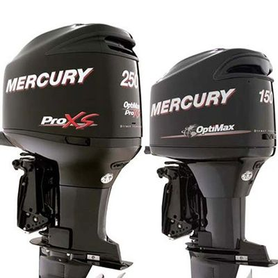 Mercury Optimax 250 ProXS Direct Injected Mercury Optimax 150 V6 2.5 Direct Fuel Injection