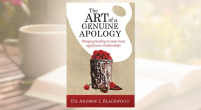 Picture of the Book, The art of a Genuine Apology