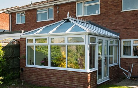 Global conservatory roof in Victorian, Georgian, Edwardian, P-shape from Superior Trade Frames
