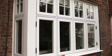 Flush sash windows in uPVC by superior Trade Frames
