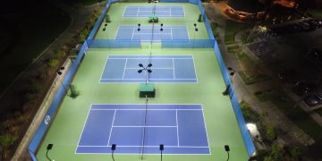 SES Lighting Achieves Class IV Lighting at Marin Country Club with Tennis LED Lighting Technology