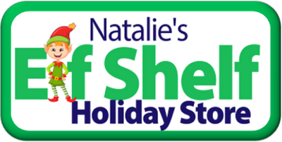 ELF SHELF HOLIDAY SHOPPE,THE ELF SHELF HOLIDAY STORE,NATALIE'S ELF SHELF HOLIDAY STORE,CHRISTMAS