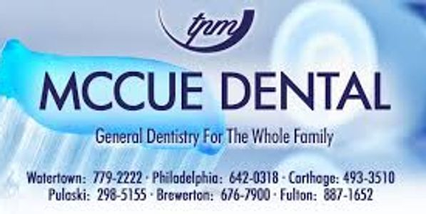 Thank you to McCue Dental for donating toothbrushes to our program!