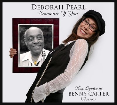 "My CD ""Souvenir of You"" -  with my lyrics to the music of jazz legend Benny Carter."