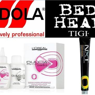 indola bed head l'orieal and NXT colours