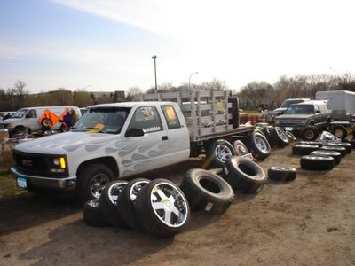 Lots of USED tires and wheels EVERY WEEK