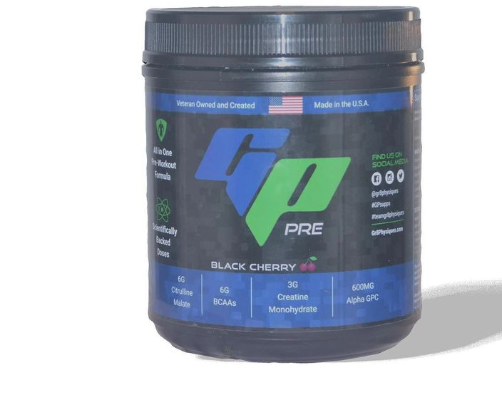 GP Pre - preworkout from Gr8Physiques Fitness Solutions