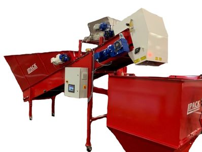 Compact  continuous soil mixing line