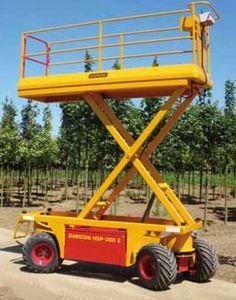 修剪平台,修剪树木,采摘水果