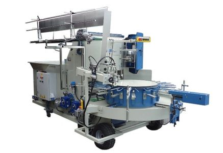 Carrossel type potting machine to transplant plants, potting machines for sale