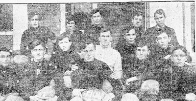 The first team: the 1906 Terrill School football team
