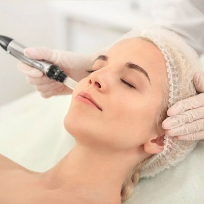 Micro-dermabrasion facial, PRP treatment, Radio Frequency skin tightening