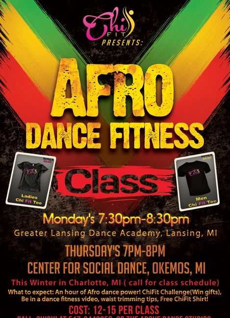AFRO DANCE FITNESS