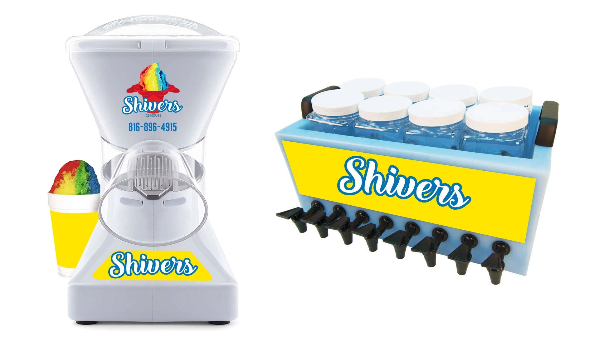 Rent both shaver and flavor station from shivers.