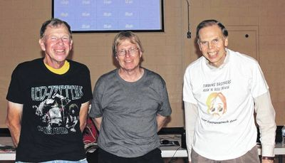 From left are: Dave Timmons, Steve Chambers, and John Timmons.