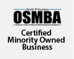 Certified through the State of South Carolina Governor's Office of Small & Minority Business Assista