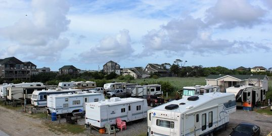 16 site campground on Hatteras Island