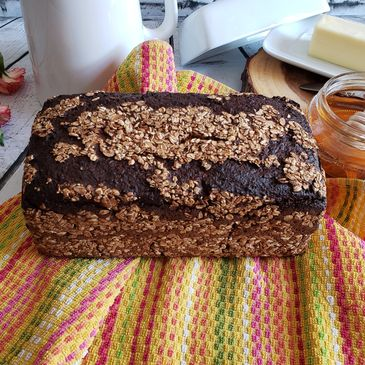 Pumpernickel Bread Old German Bakery Hoboken NJ Rye Wheat Healthy Hearty Eat Non-GMO Real Sourdough