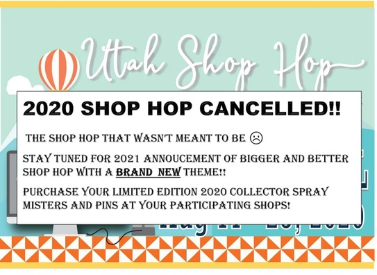 Utah Shop Hop 2020  Quilt Block Trail Virtual Shop Hop