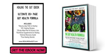 Step-by-step guide to heal leaky gut symptoms for good. Leaky gut diet, recipes, meal ideas, tips