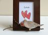 Miniature Morning Dove Photo Frame-available Colorscape Chenango Sept 8&9