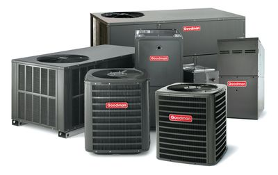 Goodman, Air conditions, heater, Furnaces, gas, propane, natural gas furnace, air handlers, condenser