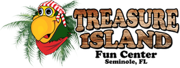 Corey Thornton partnered  with Treasure Island Fun Center for Special Events.