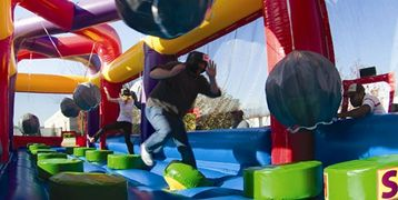 Boulder Dash Inflatable Interactive Obstacle Course rental in Nashville TN