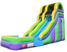 Dual lane Inflatable Water Slide Rental in Nashville TN from www.bouncehouserentalsnashville.com