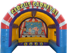 Circus Carnival Inflatable Game in Nashville from www.bouncehouserentalsnashvilletn.com
