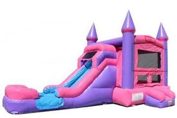 Princess Castle Bounce House Rental Nashville TN from It's Time 2 Bounce
