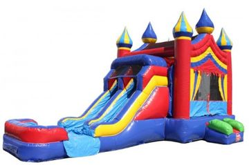 Circus Themed Bounce House Inflatable in Nashville TN for rent.