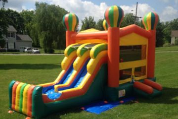 Balloon Combo Bounce House Rental Nashville TN from It's Time 2 Bounce