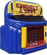Connect a shot inflatable game rental in nashville from www.bouncehouserentalsnashvilletn.com