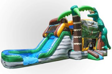 Dinosaur themed bounce house rental Nashville from www.itstime2bounce.com